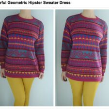 Monday Vintage Obsession: The Geometric Sweater