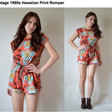 Monday Vintage Obsession: The Romper
