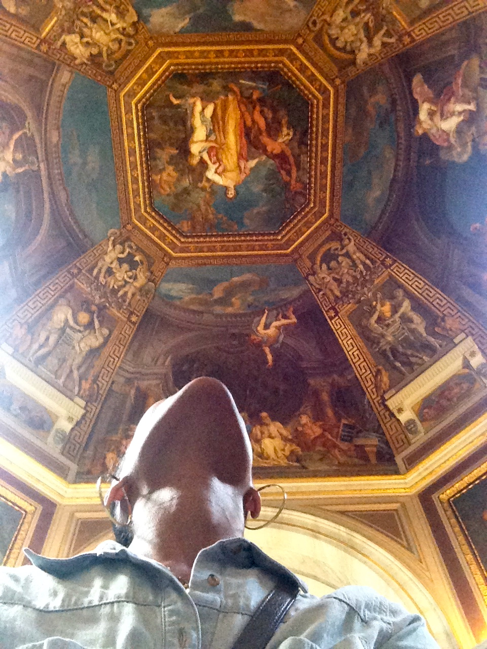Don't forget to look up when you're in the Vatican Museum