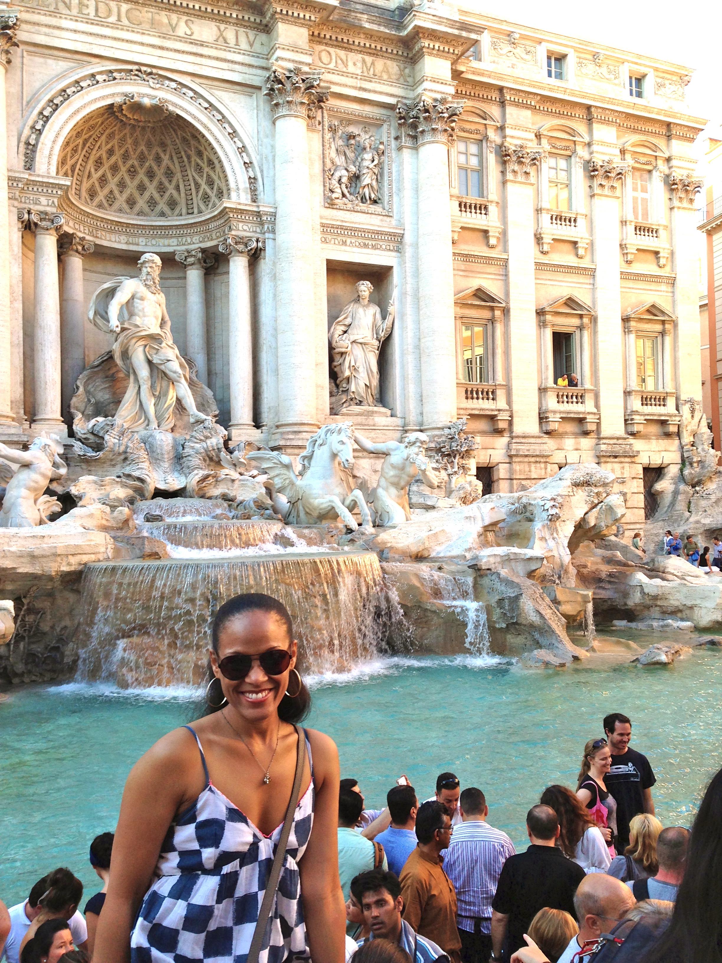 The Fontana di Trevi
