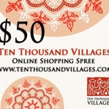 Ten Thousand Villages Giveaway