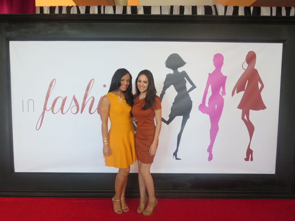 I rented this fun, beautifully colored Issa dress this year for the Jeffrey Fashion Cares Fashion Show!