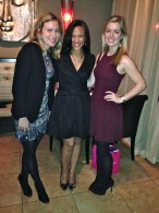 Pictured with Courtney McGeever (right) and Letty Lawrence (left) of Rent the Runway