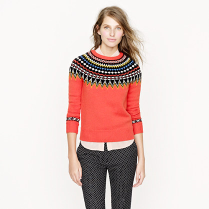 J. Crew's Fair Isle Sweater vs. Old Navy's - StushiGal Style