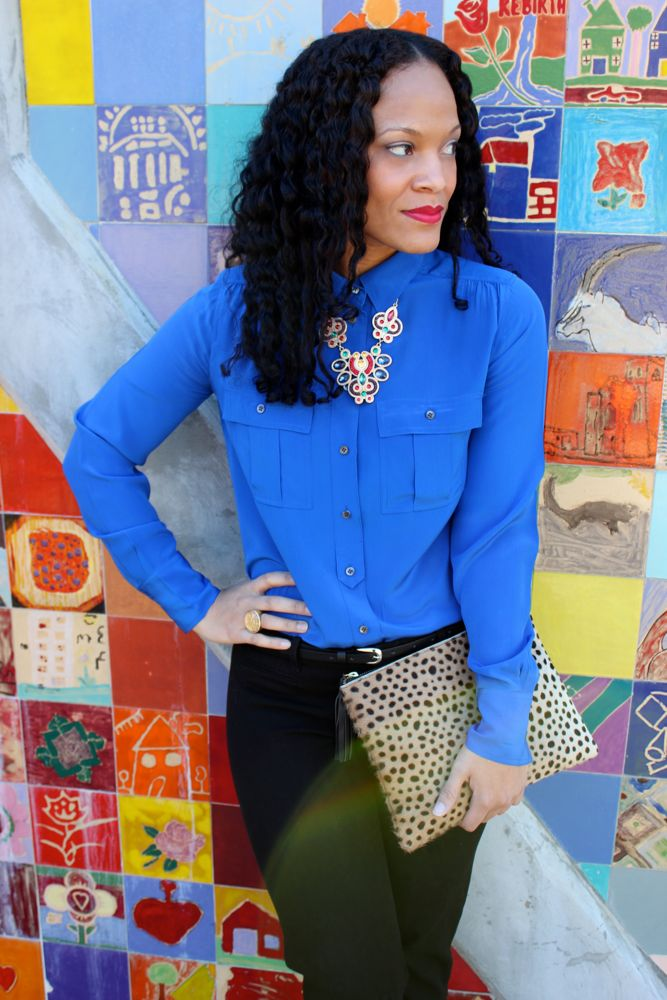 Cobalt Blue Blouse_8