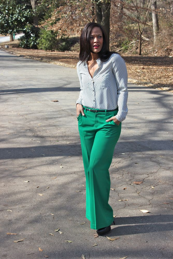 Kelly Green Pants 3