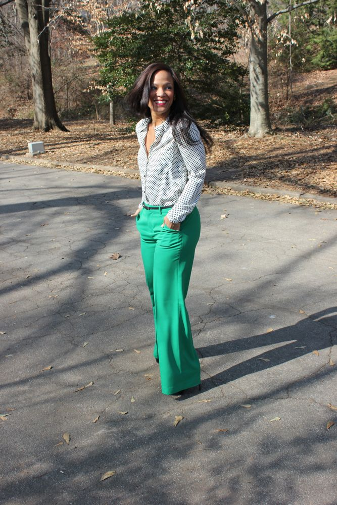 Kelly Green Pants 4