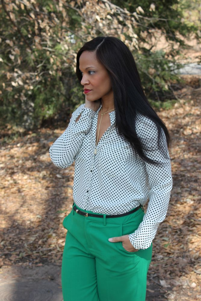 Kelly Green Pants 5