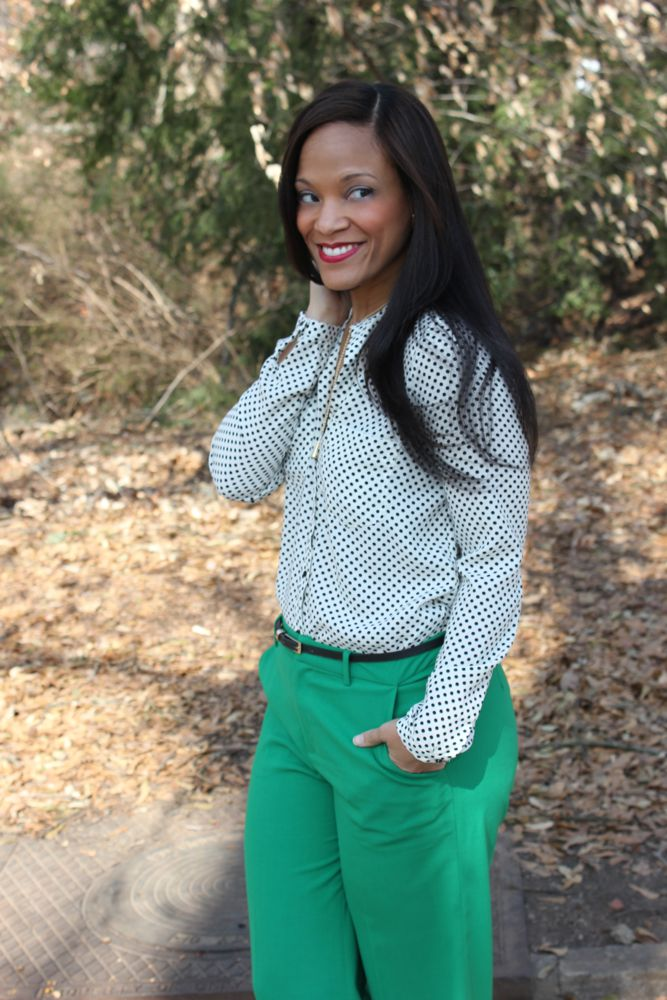 Kelly Green Pants 6