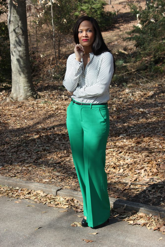 Kelly Green Pants 2