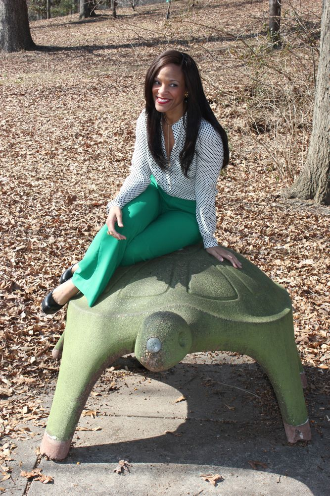 Kelly Green Pants 9