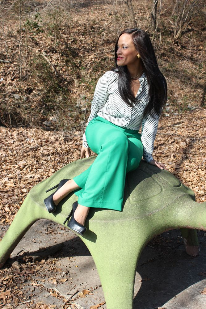 Kelly Green Pants 12