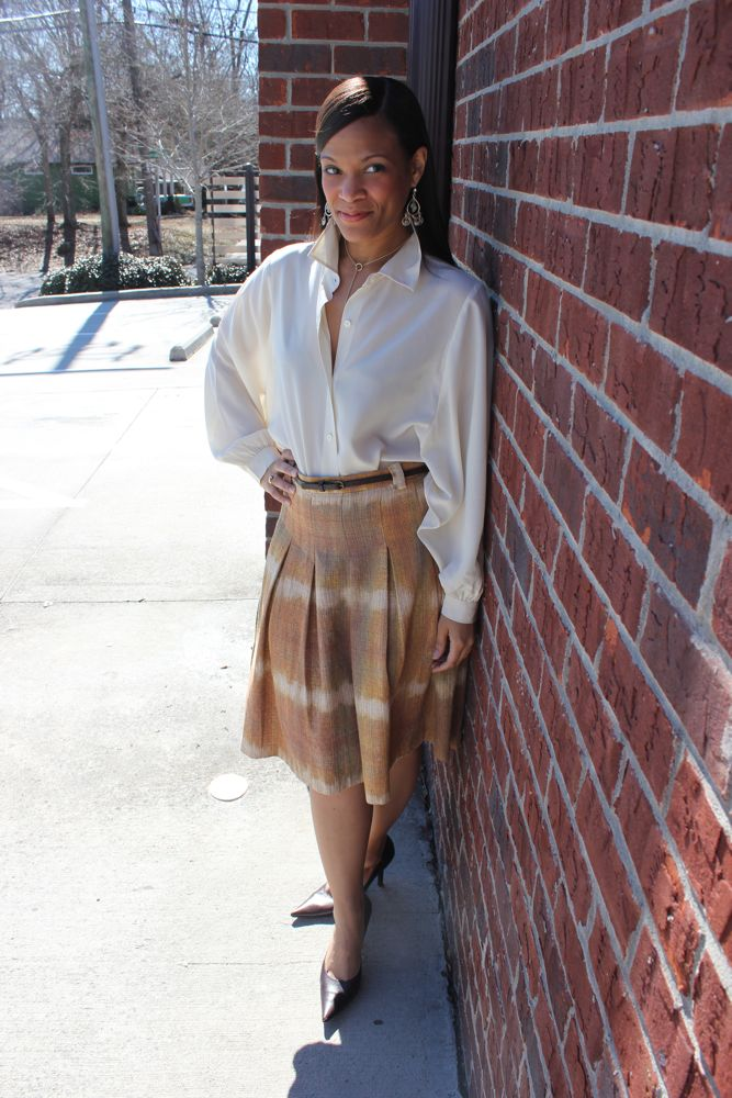 Zara Midi Skirt 3