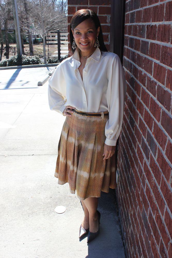 Zara Midi Skirt 1