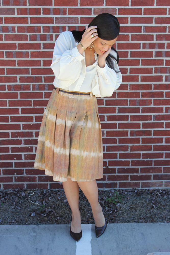 Zara Midi Skirt 5