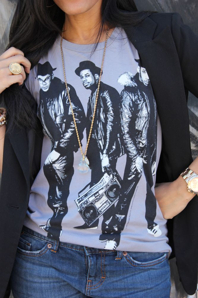 Run DMC Celebrity T-shirts 8