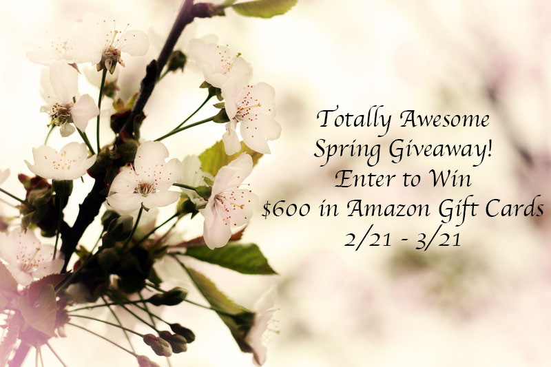 Totally Awesome Spring $600 Giveaway!