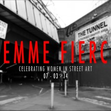 Femme Fierce Leake Street Takeover in London
