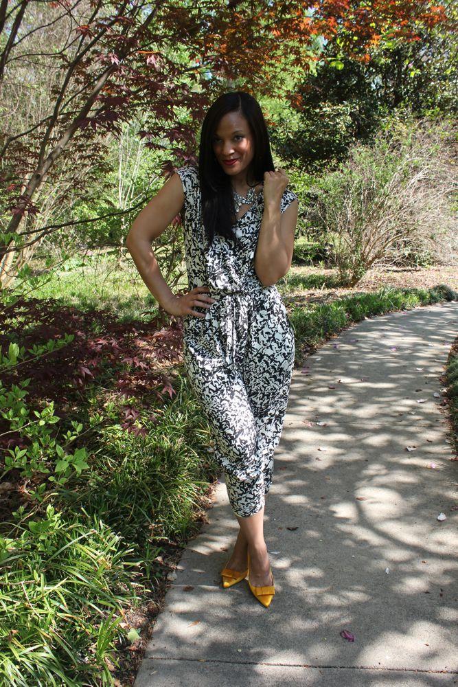 A Floral Jumpsuit 8