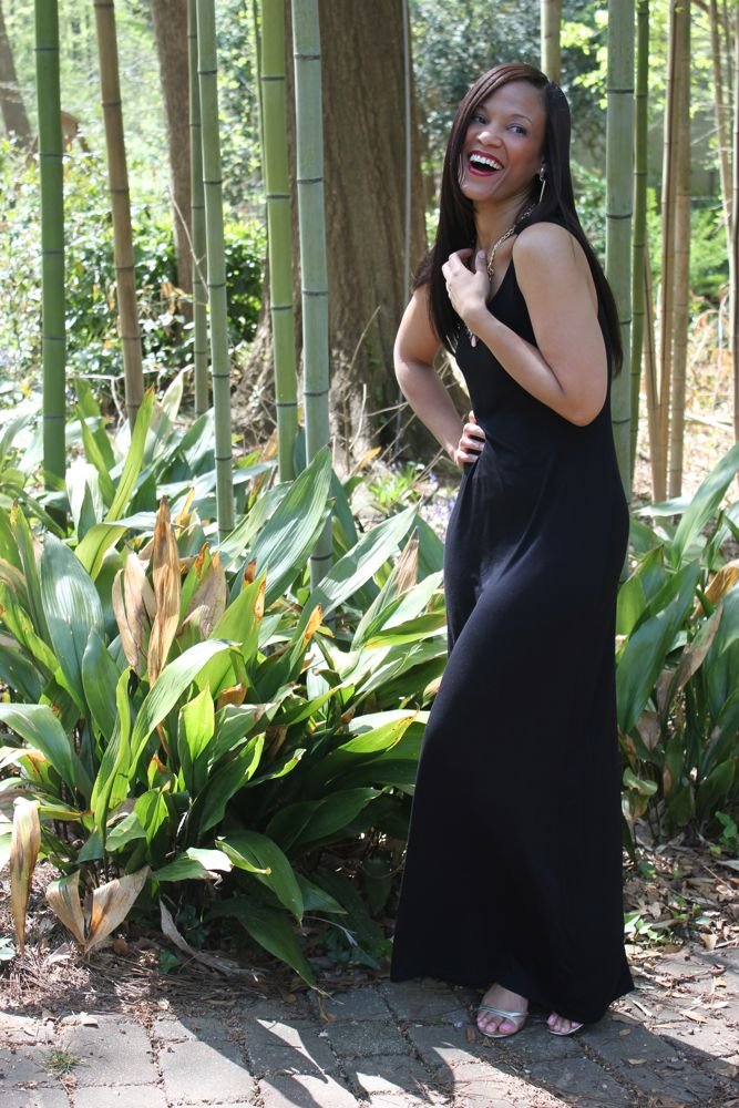 A Simple Maxi Dress for the Weekend
