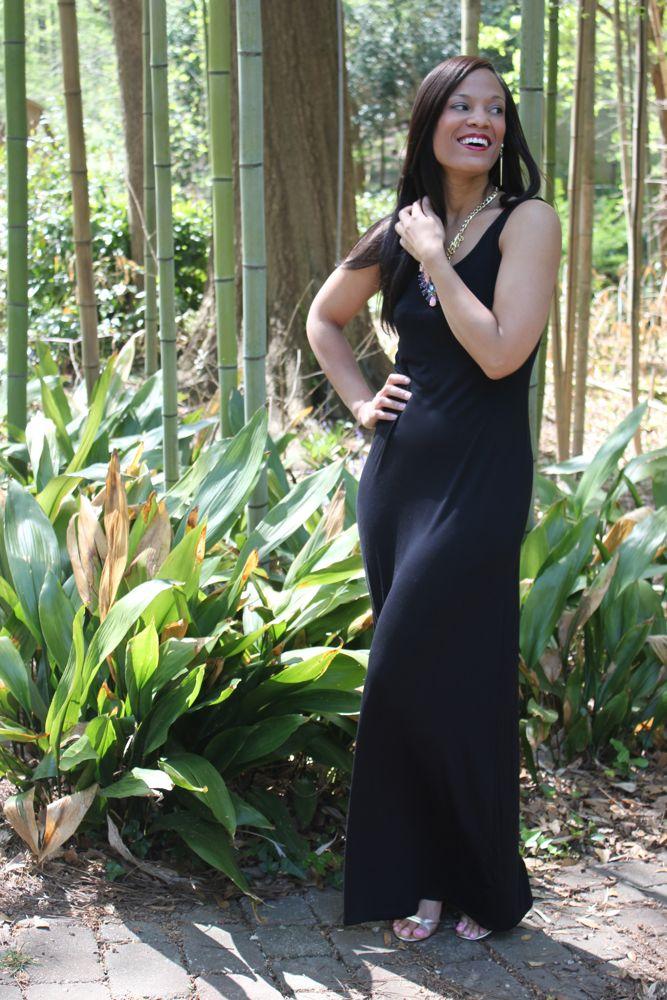 A Simple Maxi Dress 5