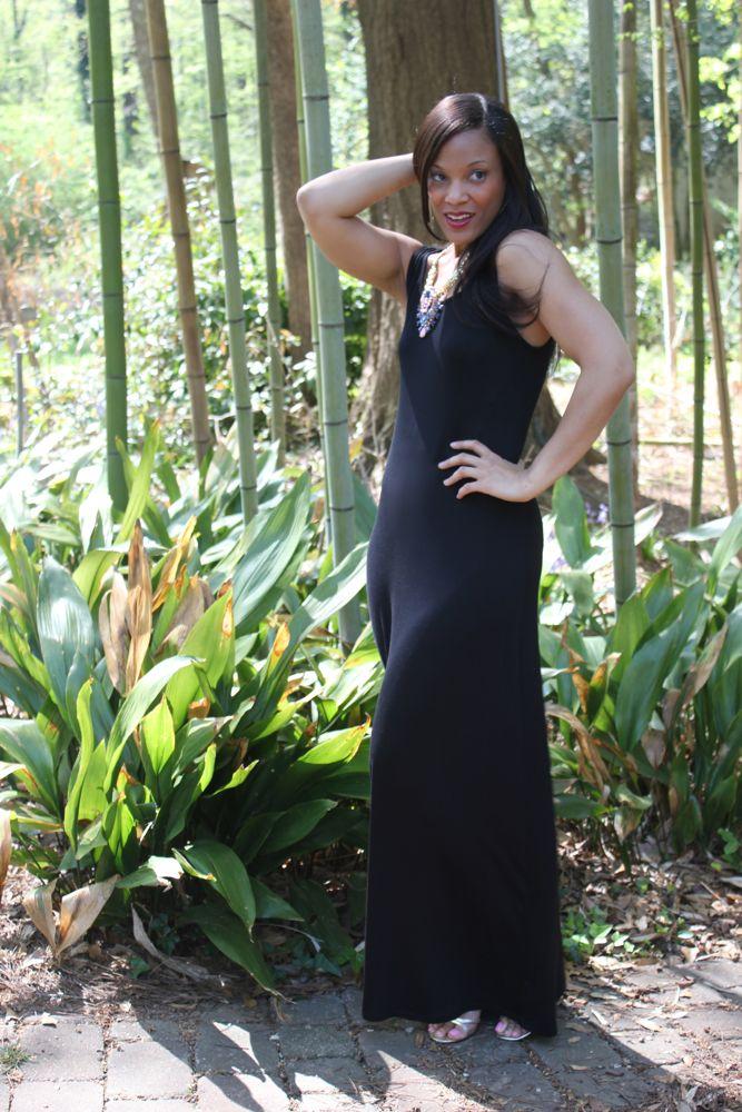 A Simple Maxi Dress 6
