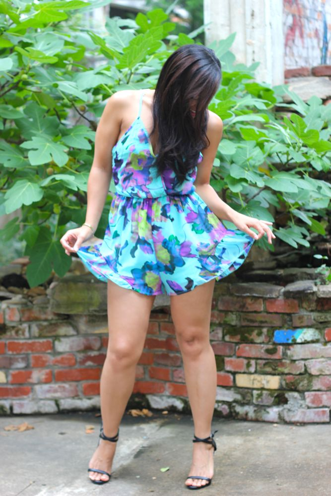 Floral Rompers 5