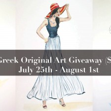 $150 Sheree Greek Original Art Giveaway! *Closed*