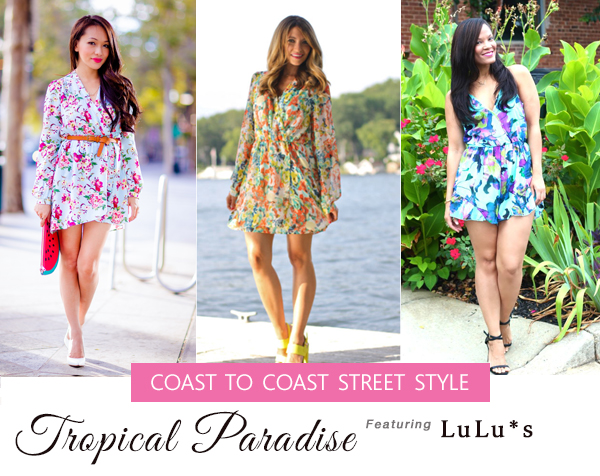Floral Rompers at Lulus.com