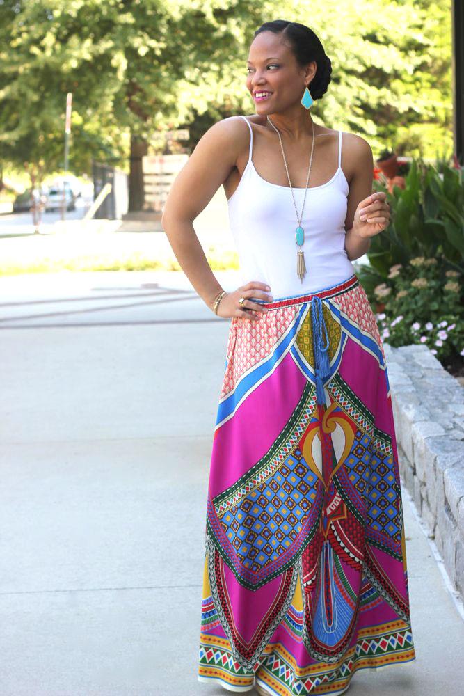 Aztec Maxi Skirts 5