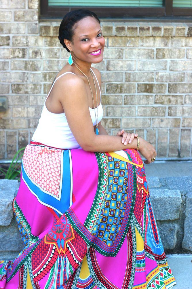 Aztec Maxi Skirts 6