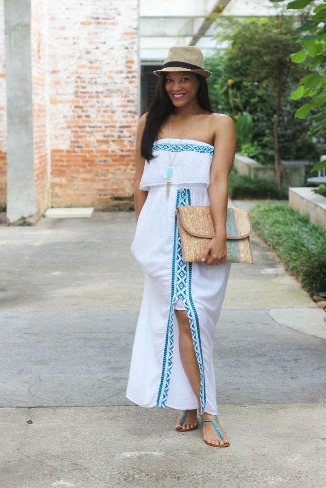 Gauze Dress 1