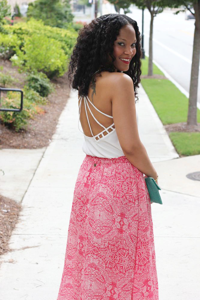 Printed Maxi Skirts 4