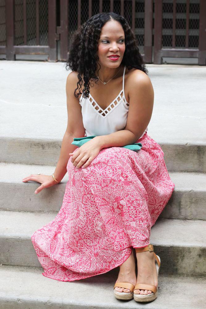 Printed Maxi Skirts 5