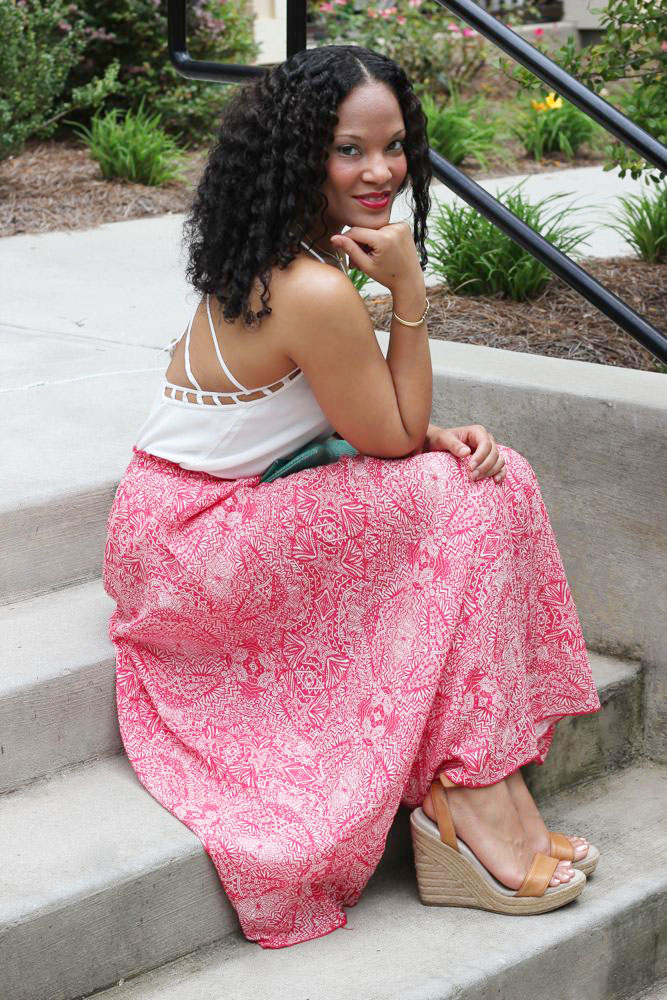 Printed Maxi Skirts from Lulus.com