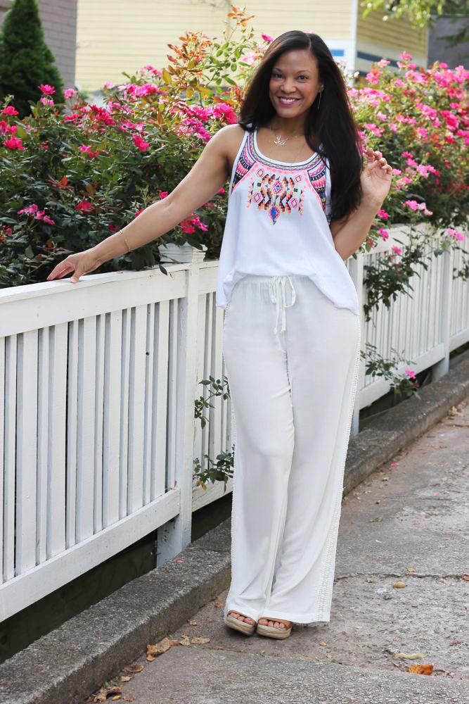 Lace Pants 1