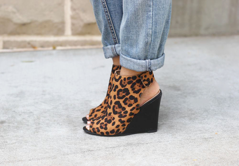 Leopard Print Booties 3