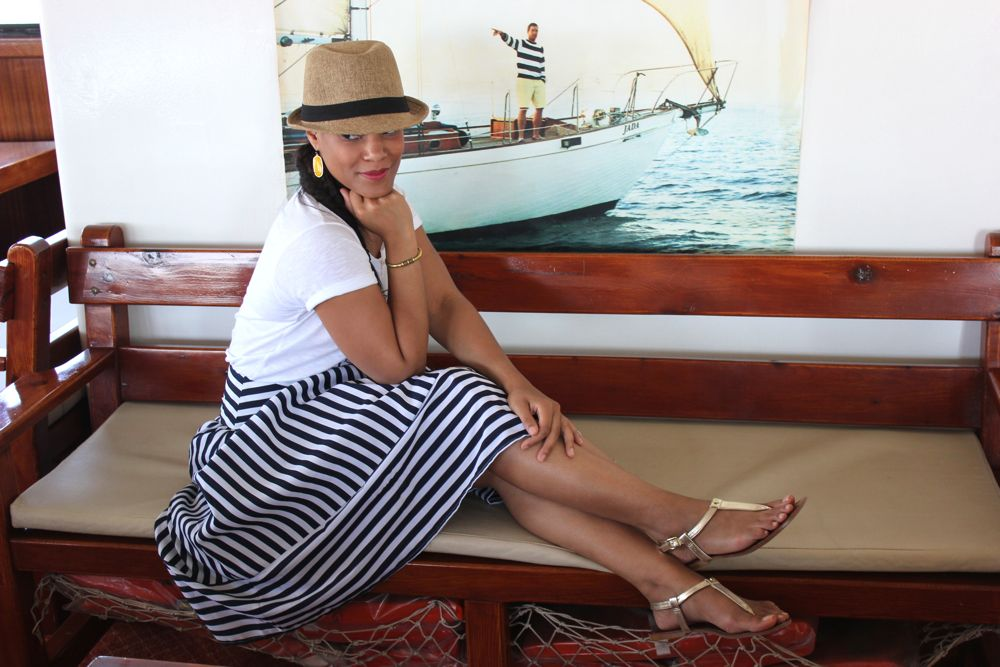 Nautical Midi Skirt 5