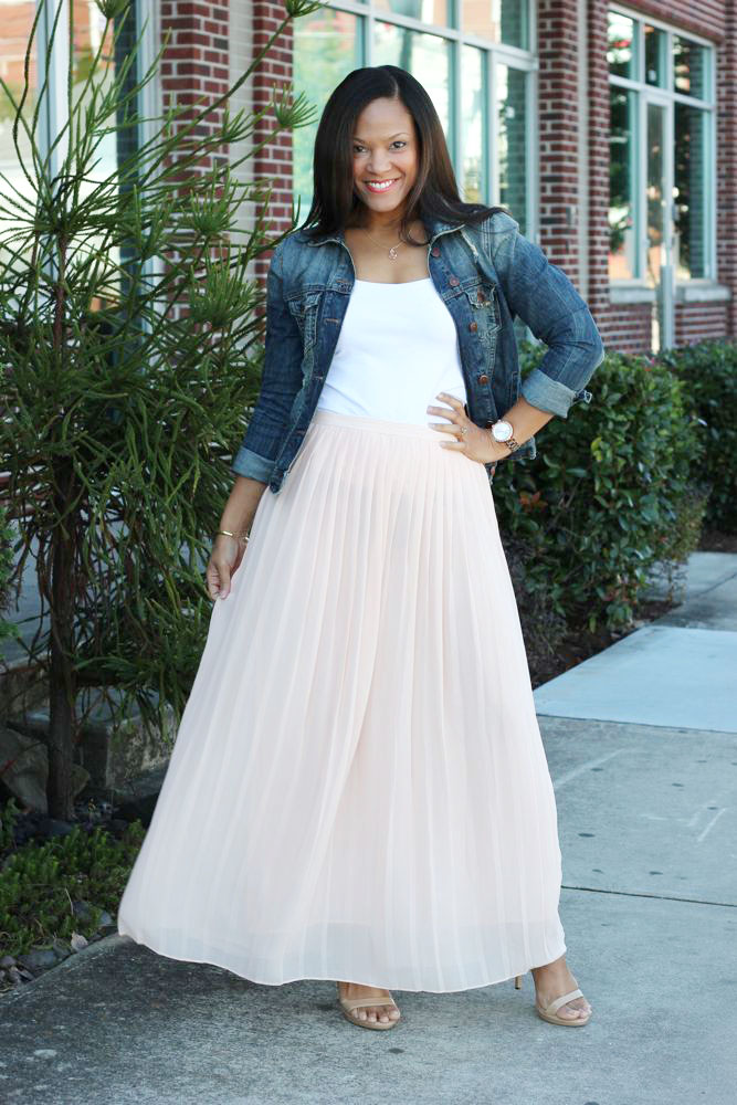 Fall Maxi Skirts for Transitional Weather
