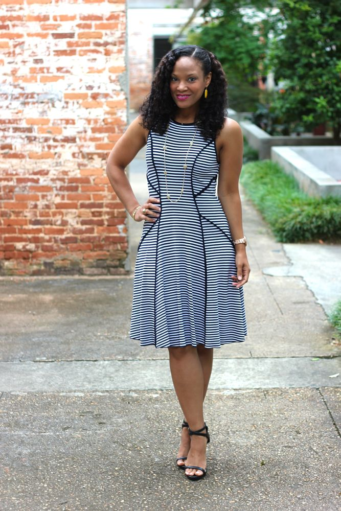 Fit and Flare Dress 1