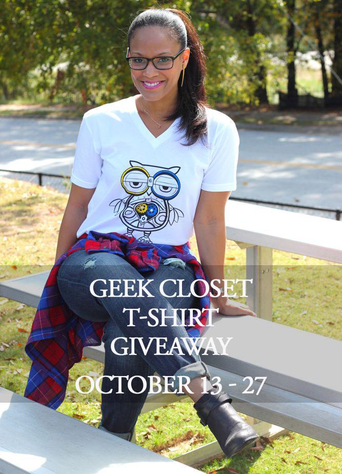 Geek Closet T-Shirt Giveaway!