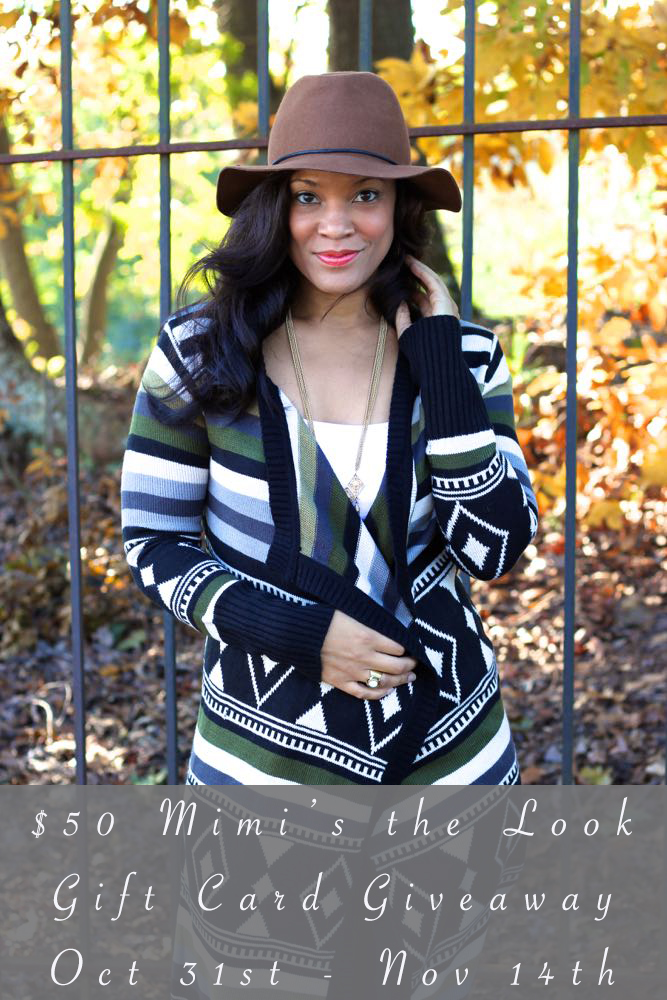 $50 Mimi's the Look Gift Card Giveaway!