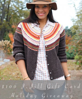 $100 J. Jill Gift Card Holiday Giveaway!