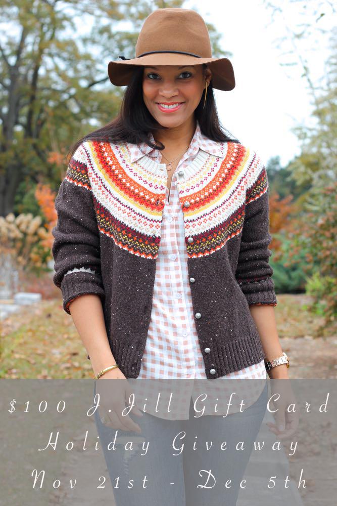 $100 J. Jill Gift Card Holiday Giveaway!