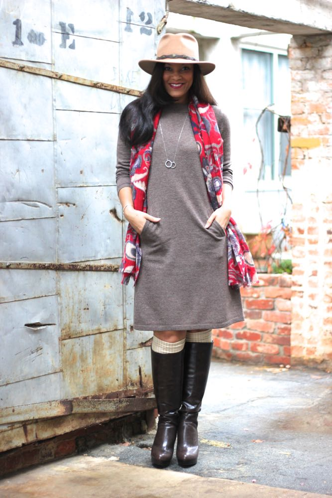 Anika Sweater Dress 1