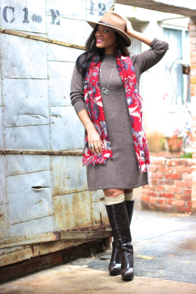 Anika Sweater Dress 2