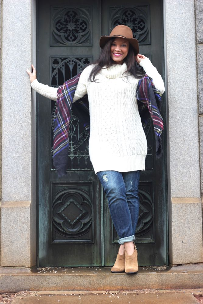 Look of the Day: Sweater and Jeans