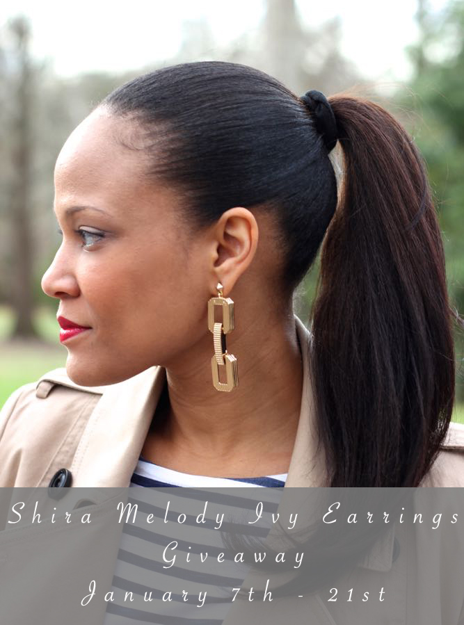 $35 Shira Melody Ivy Earrings Giveaway! *Closed*