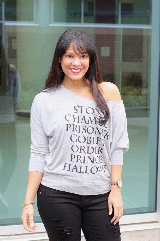 Weekend Wear: Harry Potter Sweatshirt