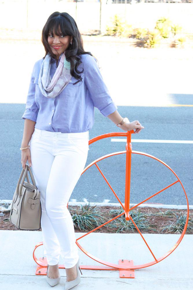 Spring Linen in Bold Colors + J. Jill